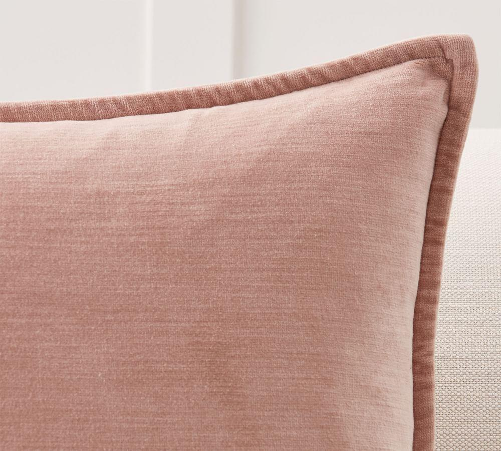 Washed Velvet Pillow Covers
