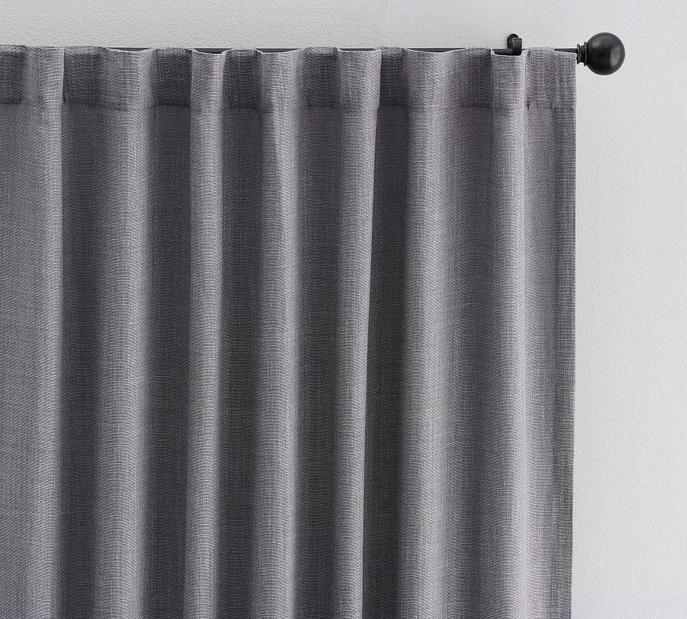 Belgian Linen Blackout Curtain Made with Libeco™ Linen