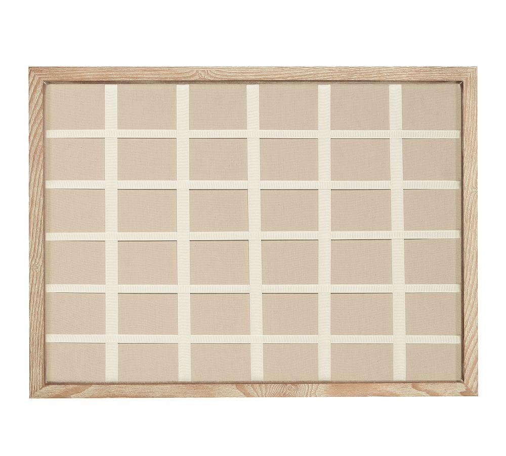 Daily System Linen Pinboard Pottery Barn Ca