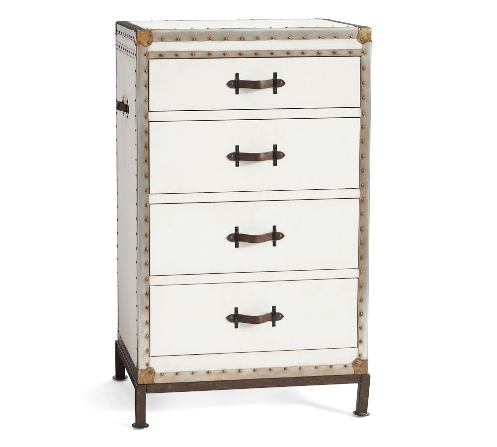 Ludlow 4-Drawer Tall Dresser