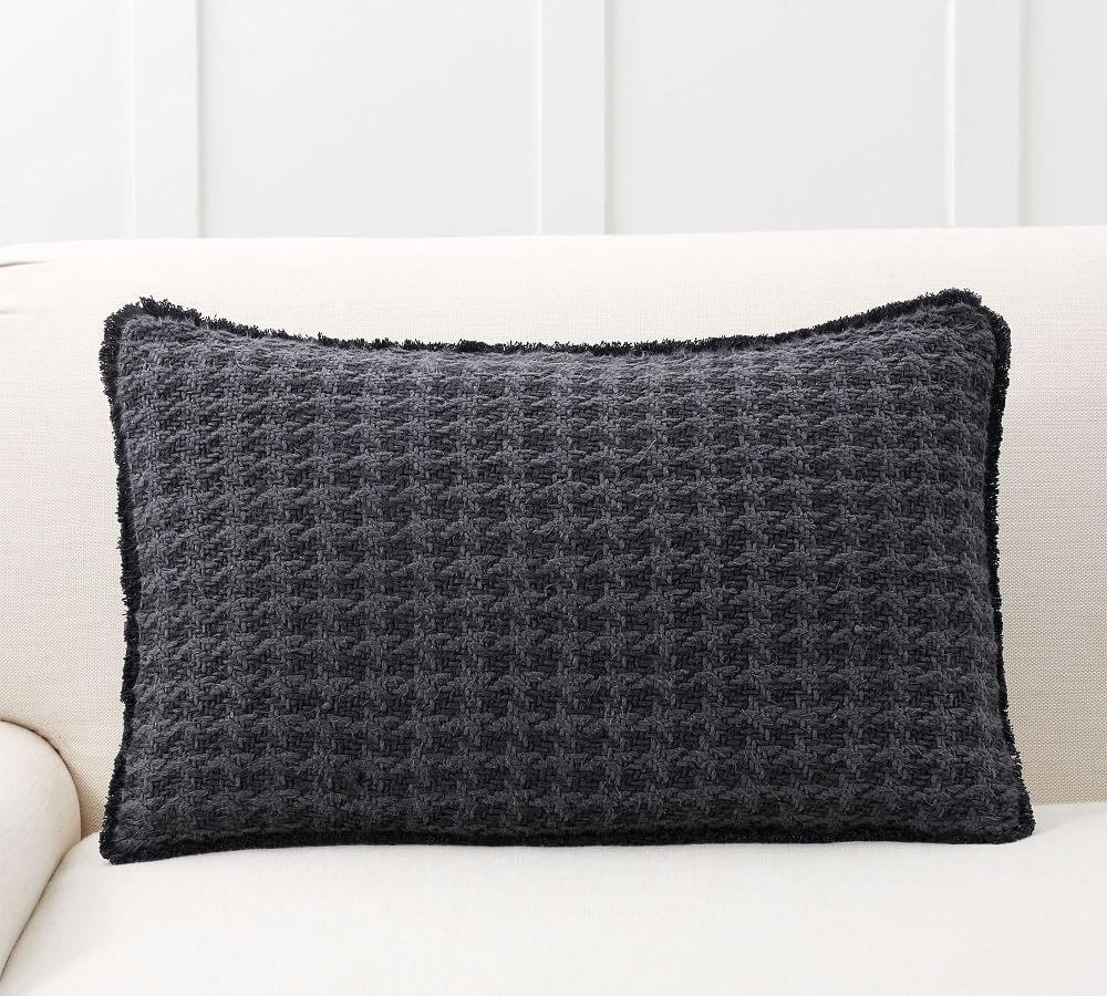 Fenton Two Toned Lumbar Pillow Cover
