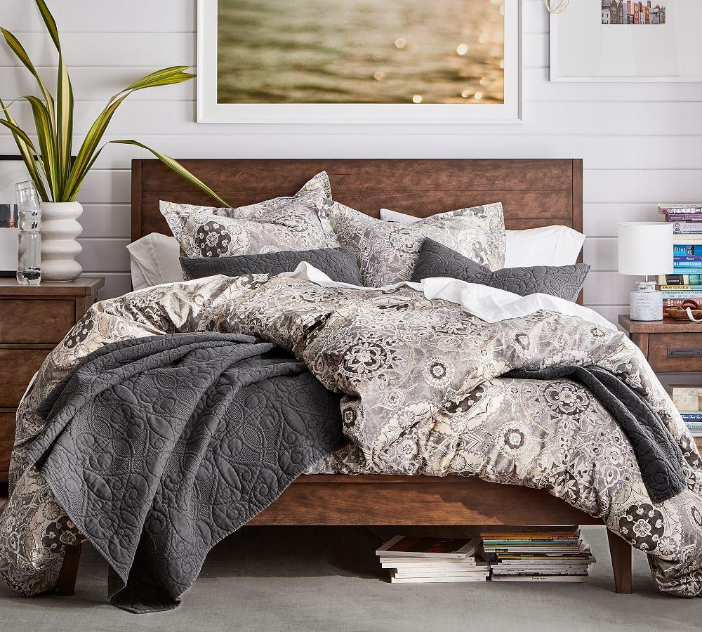 Washed Cotton Quilt & Shams