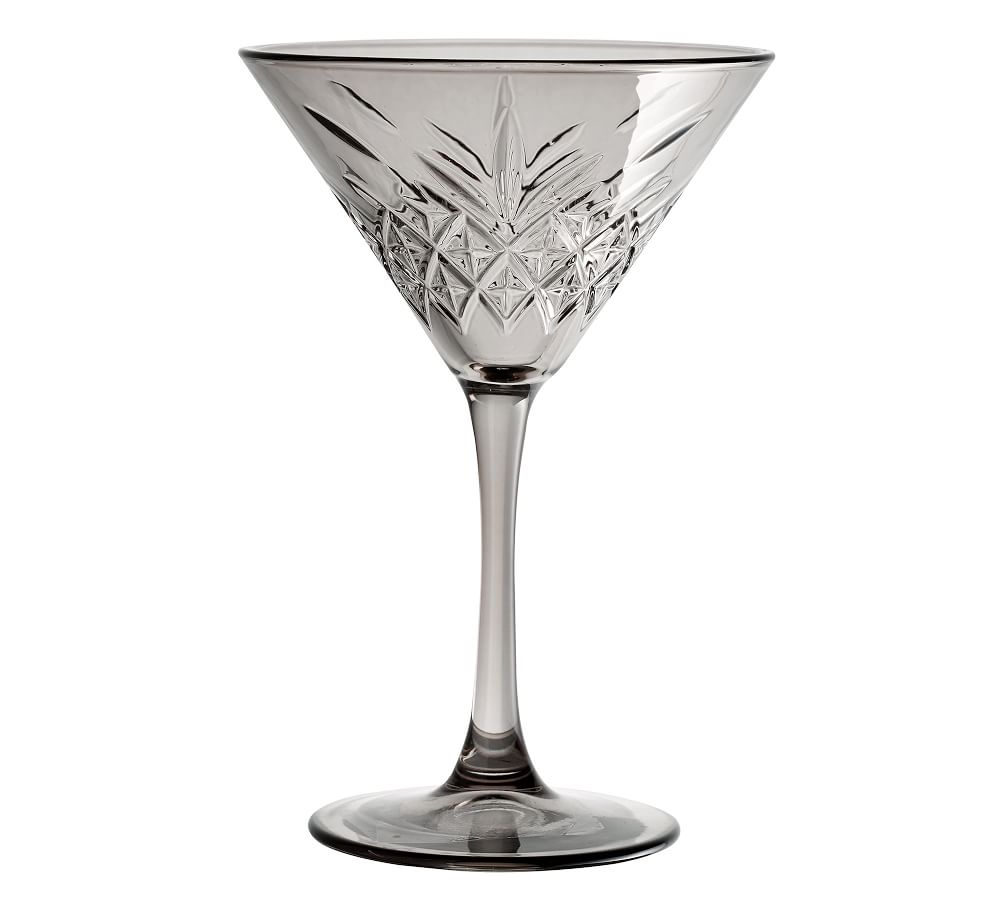 Trellis Etched Cocktail Glasses Collection Pottery Barn Ca