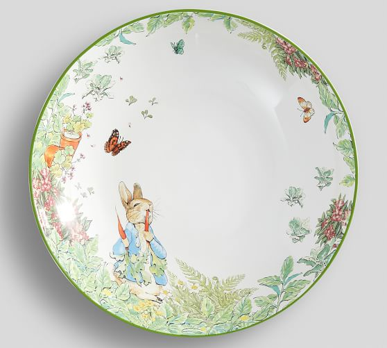Peter Rabbit Garden Serving Bowl