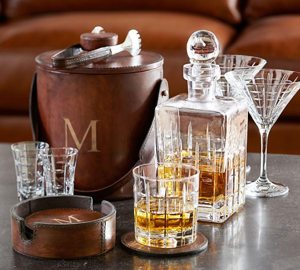 Library Glass Decanter
