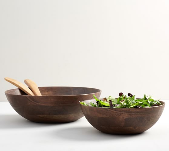 Chateau Wood Salad Bowls