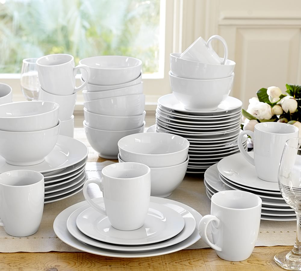 Caterer S 12 Piece Dinnerware Set Pottery Barn Ca