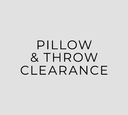 Pillow & Throw Clearance
