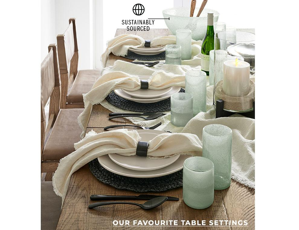 Our Favourite Table Settings