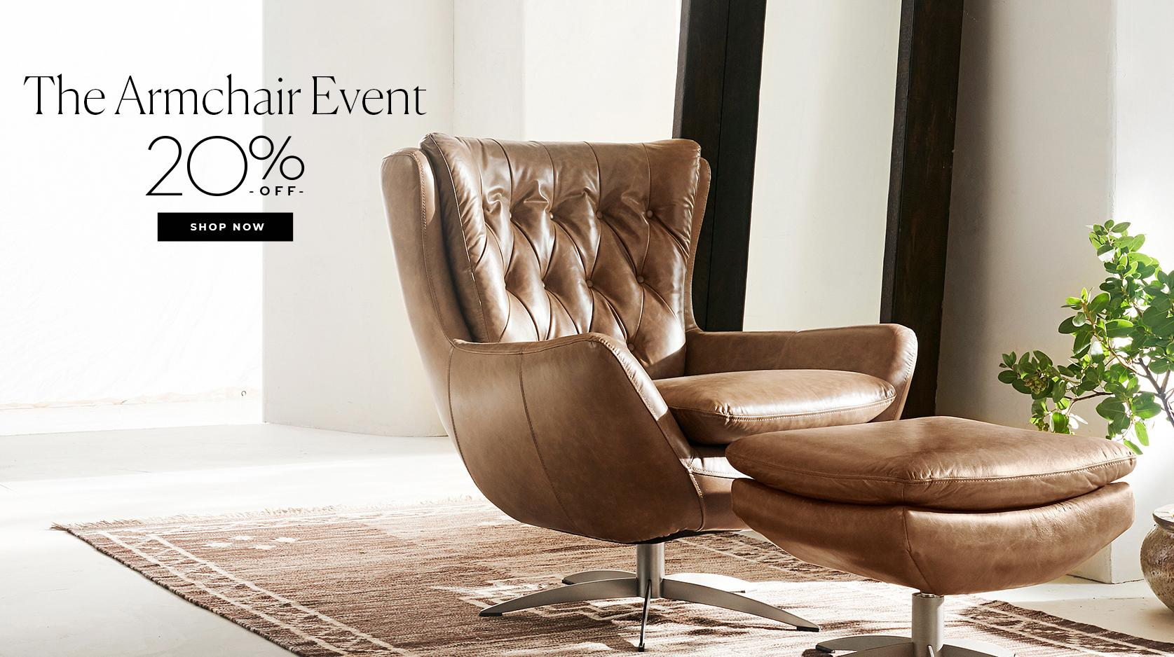 The Armchair Event: 20% off