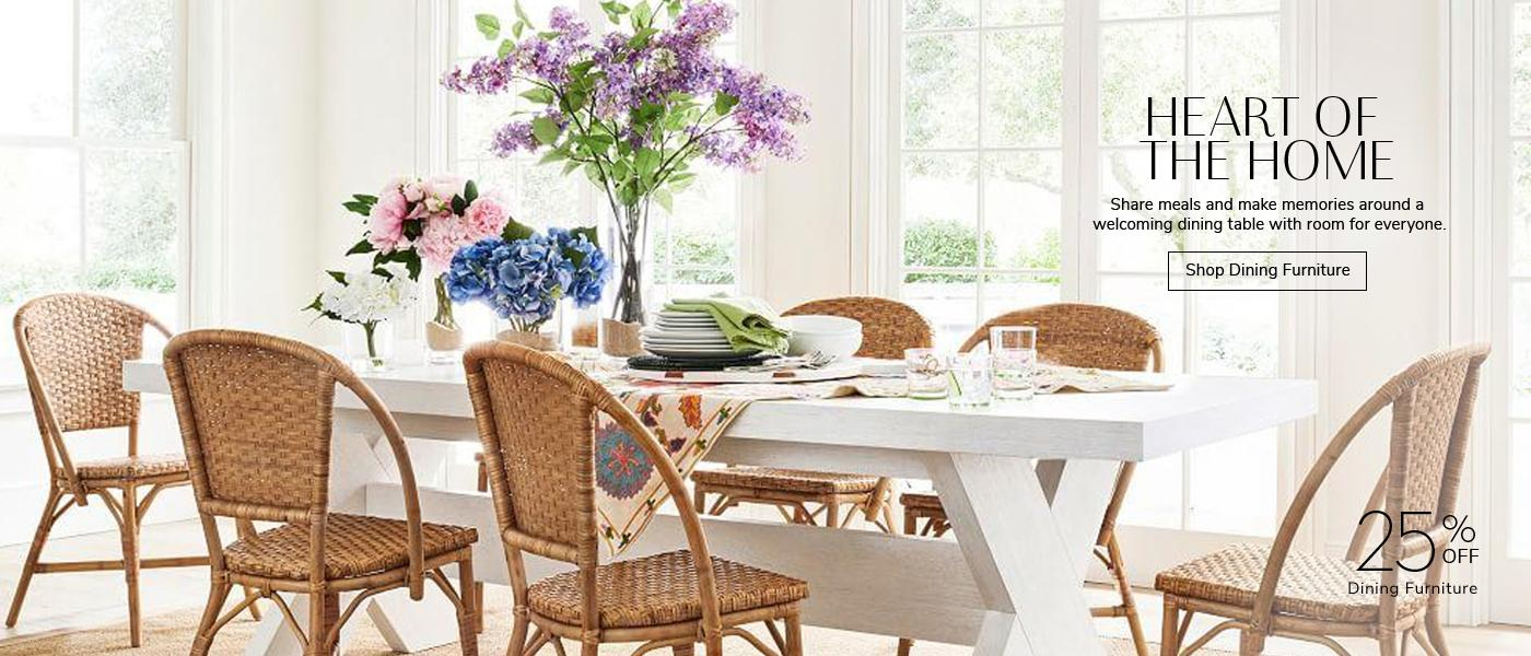 25% off Dining Furniture