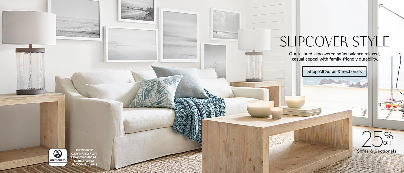 25% off Sofas and Sectionals