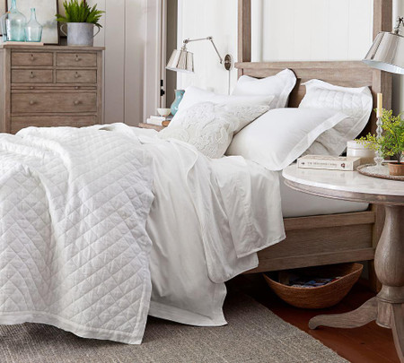 700 Thread Count Cotton Duvet Cover & Shams
