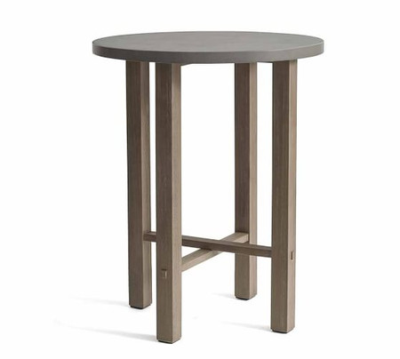 Abbott Bar Height Table, Gray
