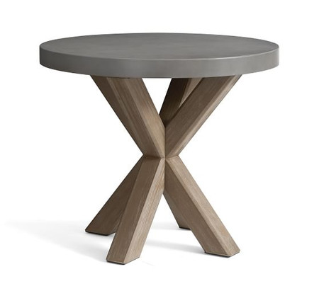 Abbott Bistro Table, Gray