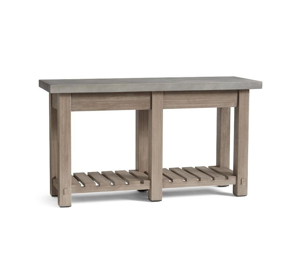 Abbott Console Table, Gray