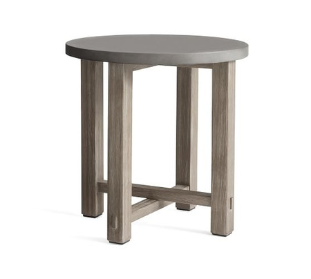 Abbott Side Table, Gray