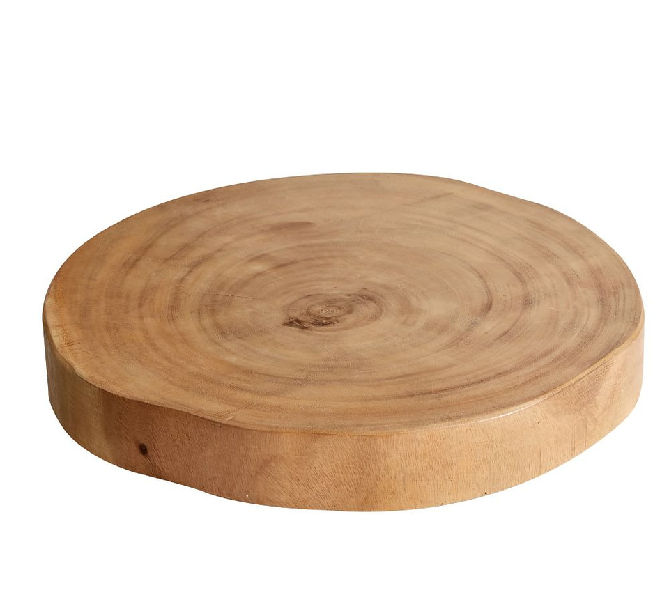 Handcrafted Acacia Wood Slab Cheese Boards