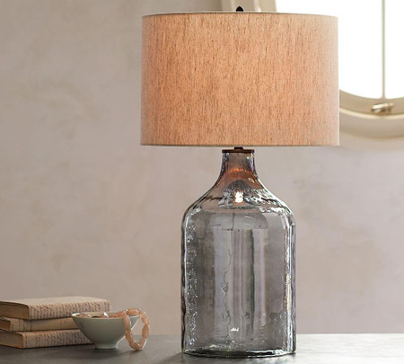 Alana Luster Glass Jug Table Lamp