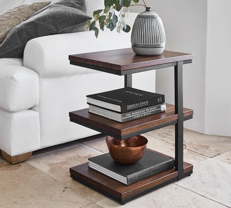 Allen 3-Tier End Table