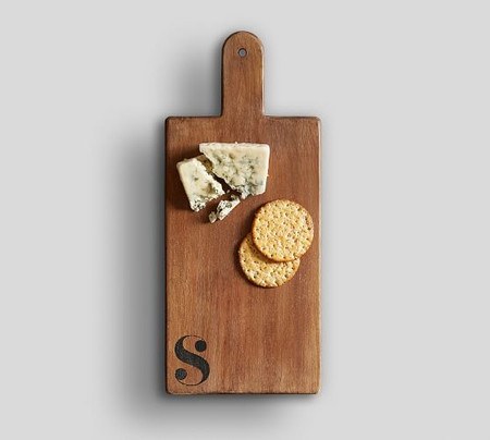 Alphabet Mango Wood Cheese Board