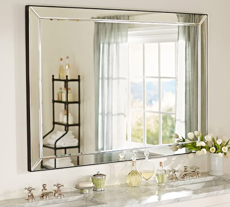 Astor Double Wide Fixed Mirror