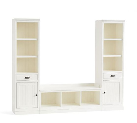 Aubrey 3-Piece Entryway Set With Cabinets