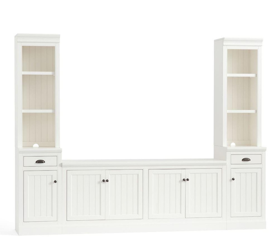 Aubrey 5-Piece Entertainment Center