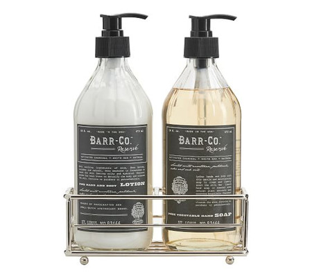 Barr-Co. Reserve Soap & Lotion Caddy Set