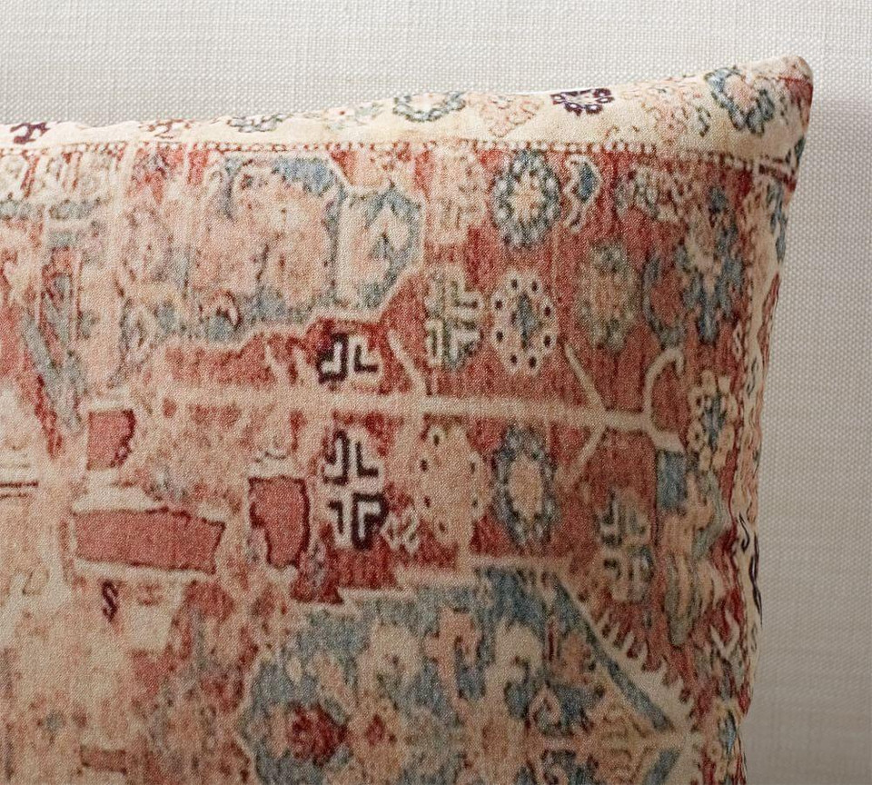 Basilia Print Pillow Cover