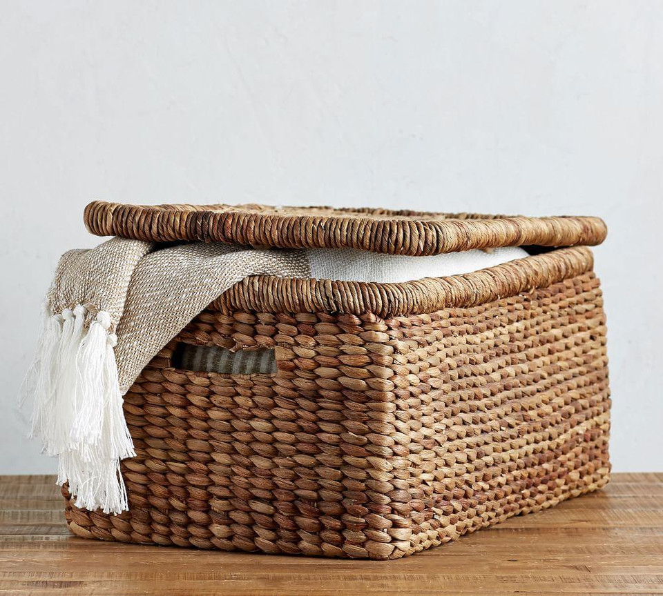 Beachcomber Lidded Basket