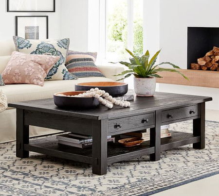 Benchwright Grand Rectangular Coffee Table