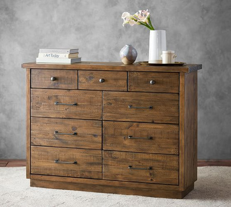 Big Daddy's Antiques 9-Drawer Extra Wide Dresser