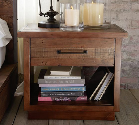 Big Daddy's Antiques Wood Nightstand