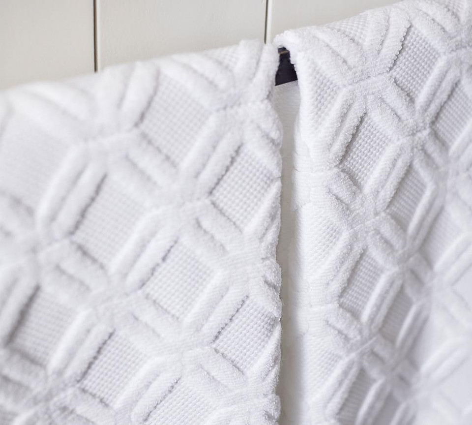 Blakely Organic Sculpted Hydrocotton Towels