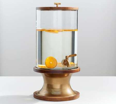 Bleecker Mango Wood Drink Dispenser
