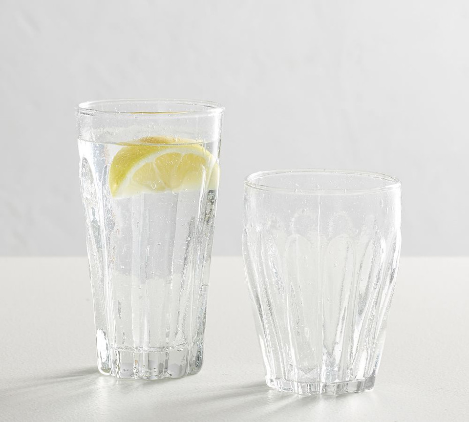 Bubble Recycled Cocktail Glasses