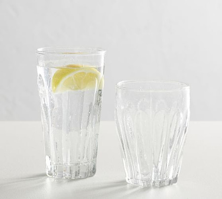 Bubble Recycled Drinking Glasses