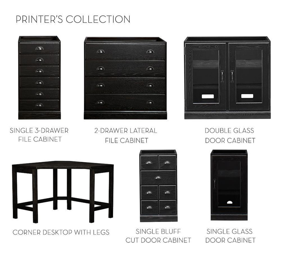 Build Your Own - Printer's Collection, Artisanal Black