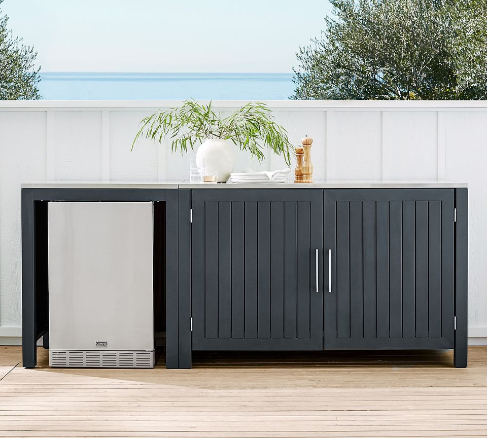 Build Your Own - Indio Metal Outdoor Kitchen, Slate