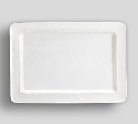 Cambria Stoneware Rectangular Serving Platter
