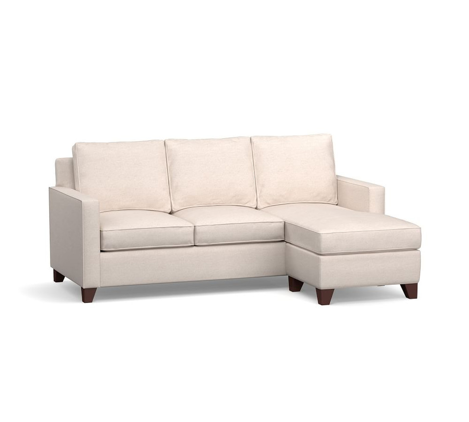 Cameron Square Arm Upholstered Sleeper Sofa With Reversible Storage Chaise