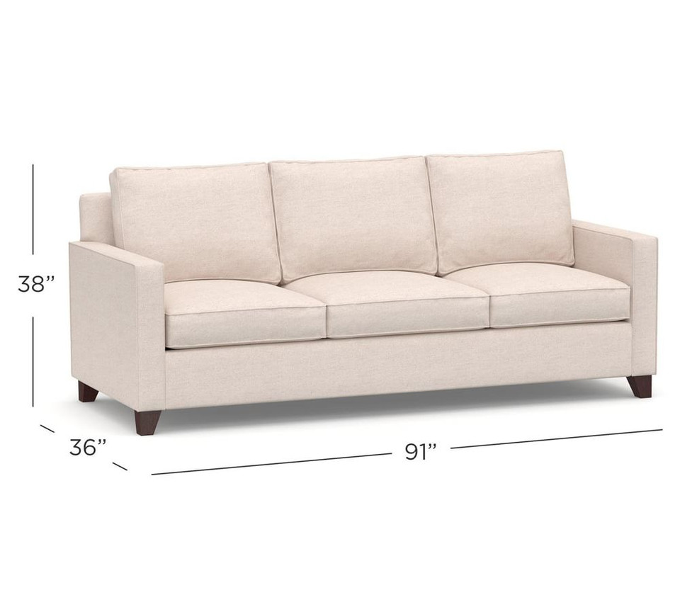 Cameron Square Arm Upholstered Side Sleeper Sofa