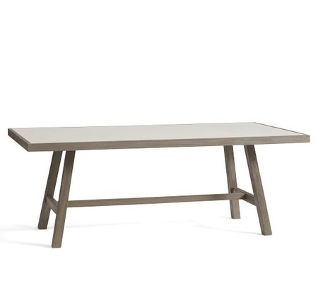 Capri Metal Dining Table
