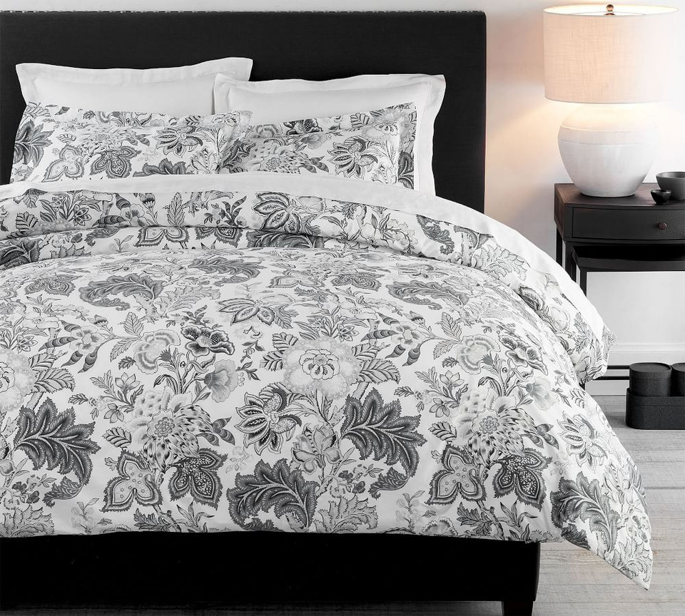 Caselyn Palampore Organic Percale Duvet Cover & Shams