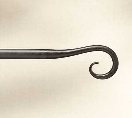 Cast-Iron Finial, Set of 2 - Scroll