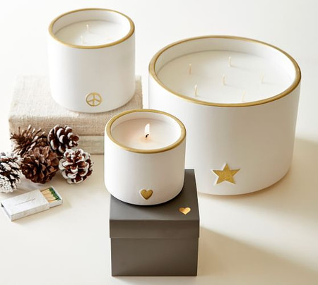 Ceramic Icon Scented Candle Collection