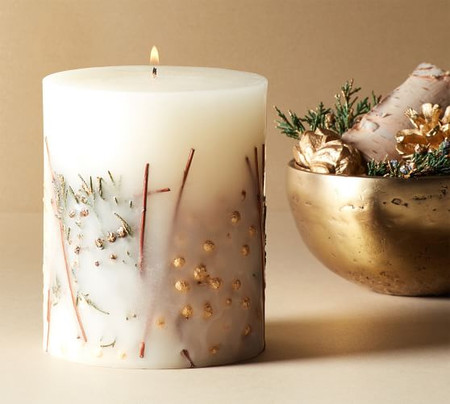Champagne Cheer Scented Pillar Candle