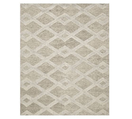 Chase Textured Hand Tufted Wool Rug - Natural