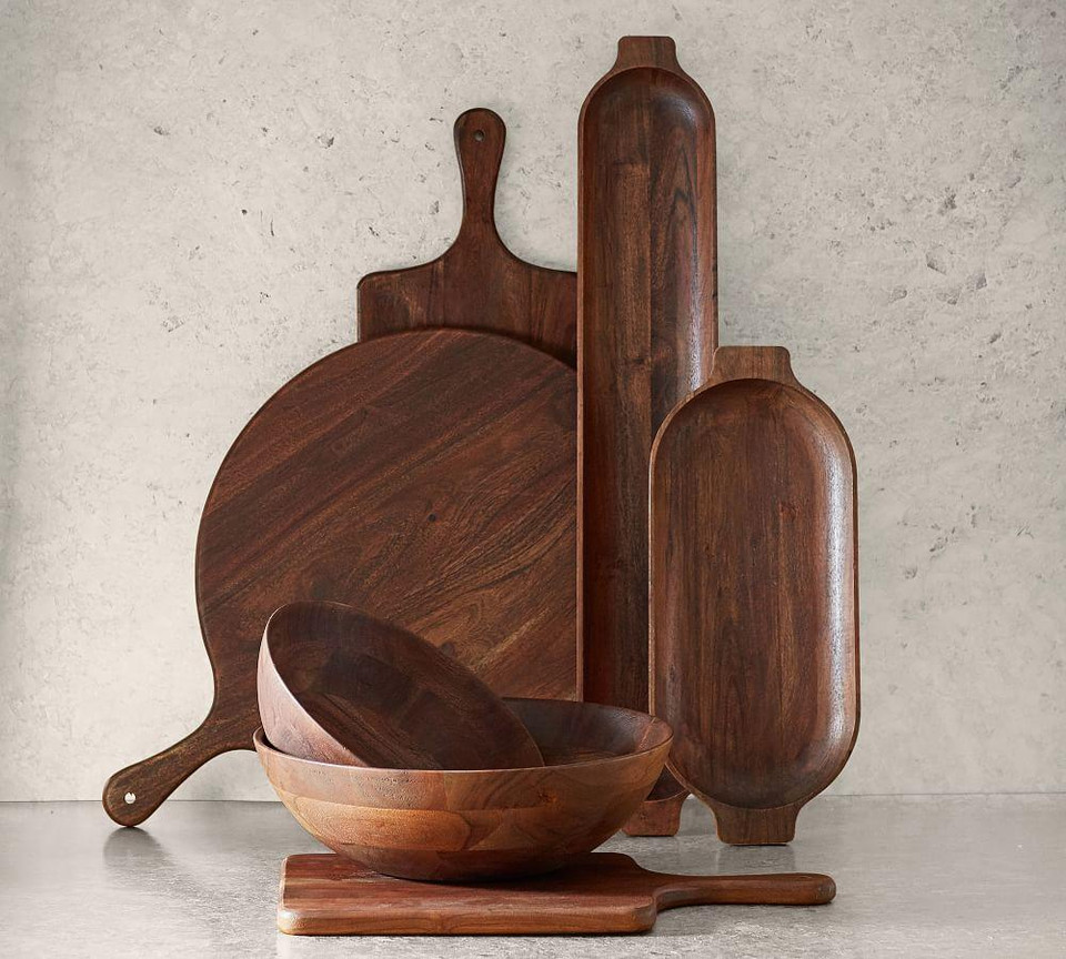 Chateau Acacia Wood Serveware Collection